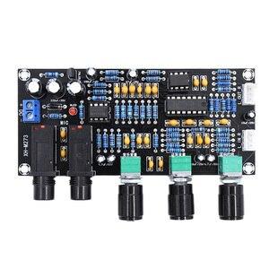 PT2399 цифровой усилитель микрофона доска эрекция караоке ревербератор усилитель NE5532 предусилитель тональная плата
