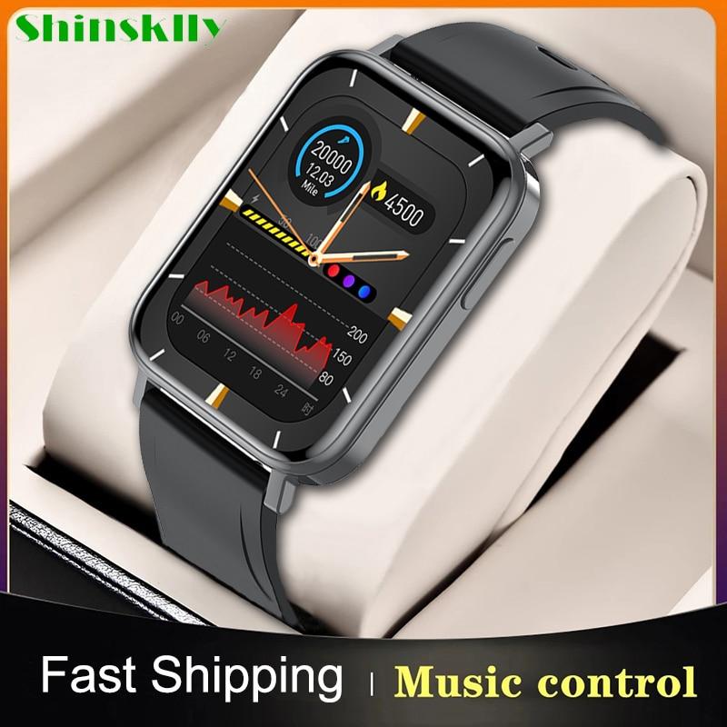 Reloj inteligente deportivo para hombre y mujer, pulsera con pantalla de 2021...