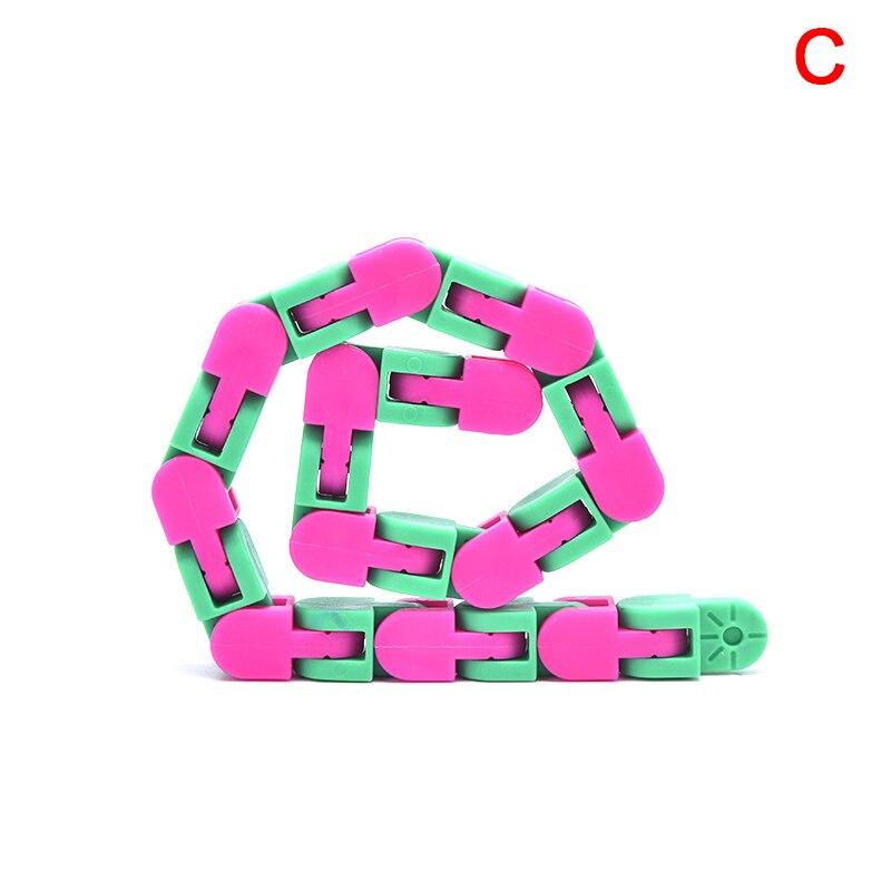 1 pcs alivio do estresse colorido quebra cabeca brinquedos sensoriais fidget louco