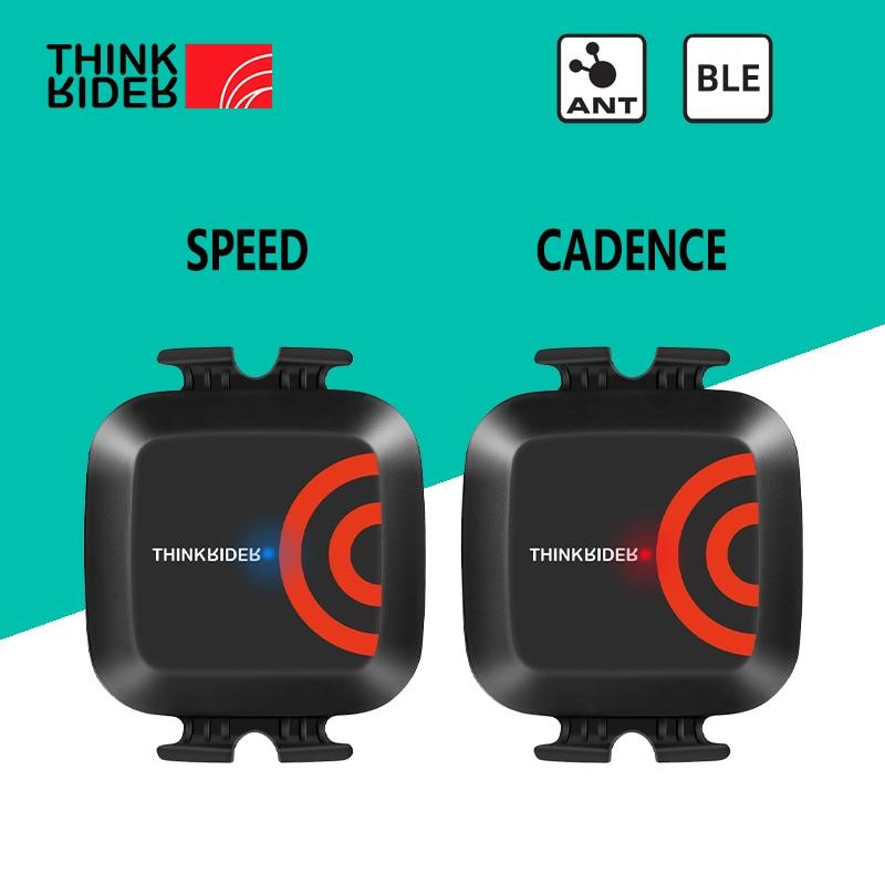 ThinkRider ANT+ Speed and Cadence Dual sensor Computer speedometer bike speed and cadence Suitable for iGPSPORT bryton Zwift