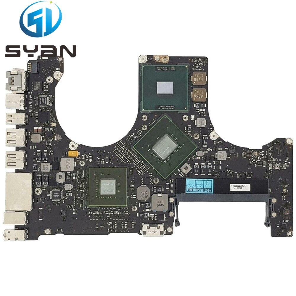 لوحة رئيسية منطقية SYan A1286 MID 2009 2.66GHz 820-2523-B for Macbook Pro 15.4
