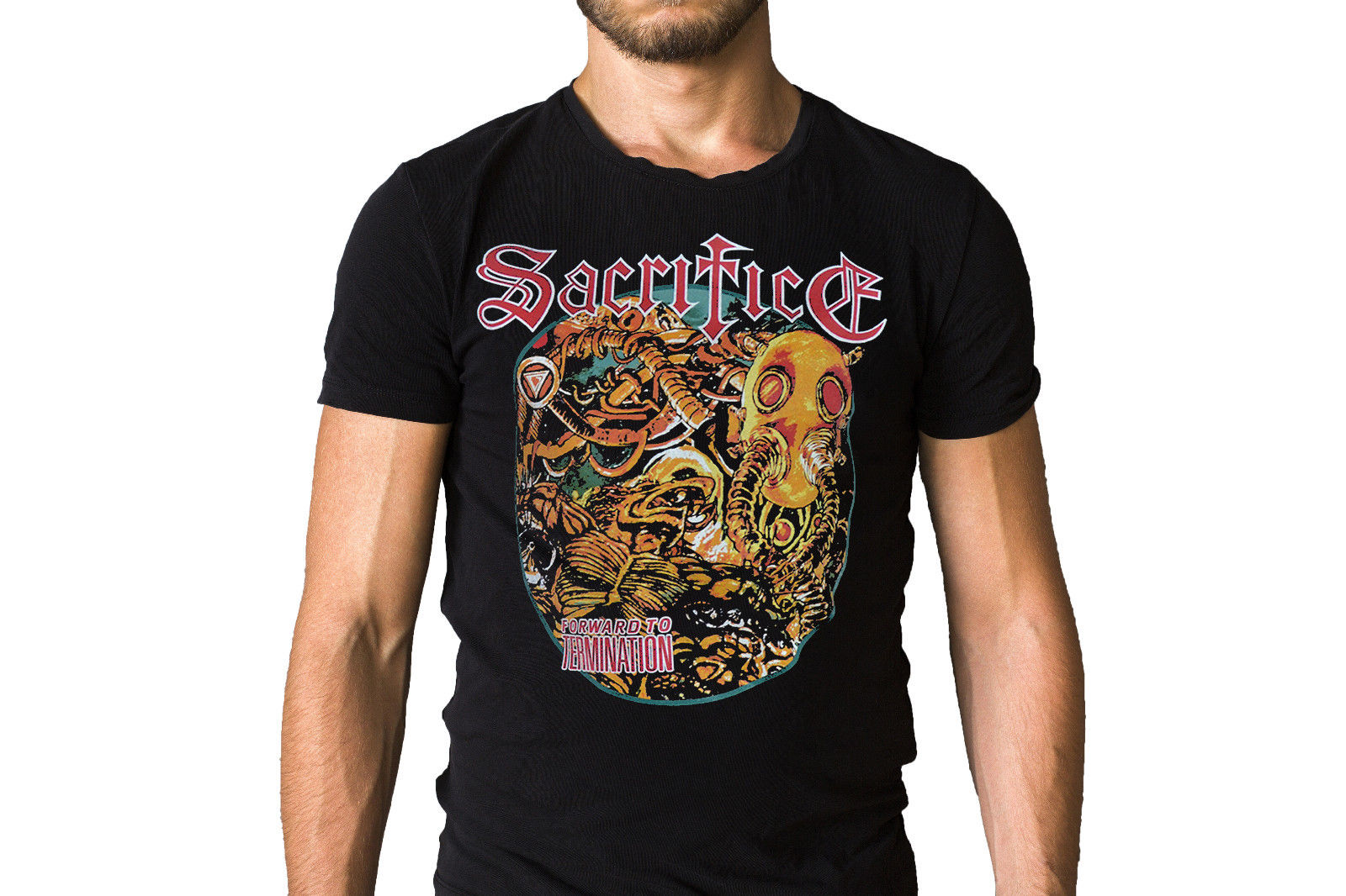 Sacrifice Forward To Termination 1987 Zipper Sweatshirt T Shirt Discount 100 % Cotton T Shirt For Men'S Anime