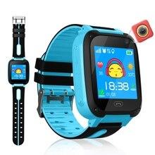 Étanche enfants montre intelligente Micro SIM carte appel Tracker enfant caméra Anti-perte Position alarme montre intelligente livraison directe