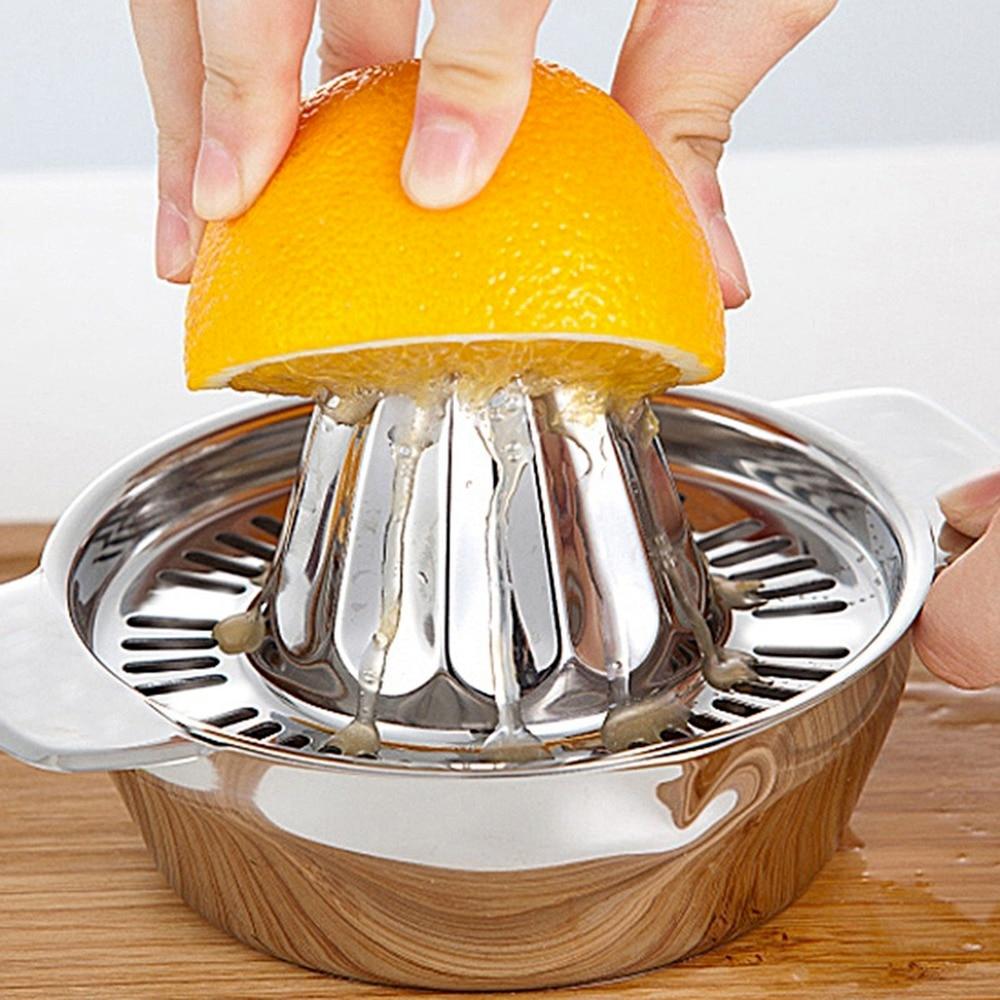 Exprimidor De frutas portátil Manual, Exprimidor De limón, Exprimidor De fruta, Citrón...