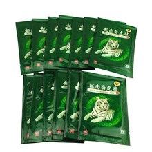 80 Pcs Vietnam White Tiger Balm Pijn Patch Spier Schouder Nek Artritis Chinese Kruiden Medische Gips Baume Du Tigre