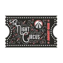 La broche en émail de cirque de nuit, broche en émail livre