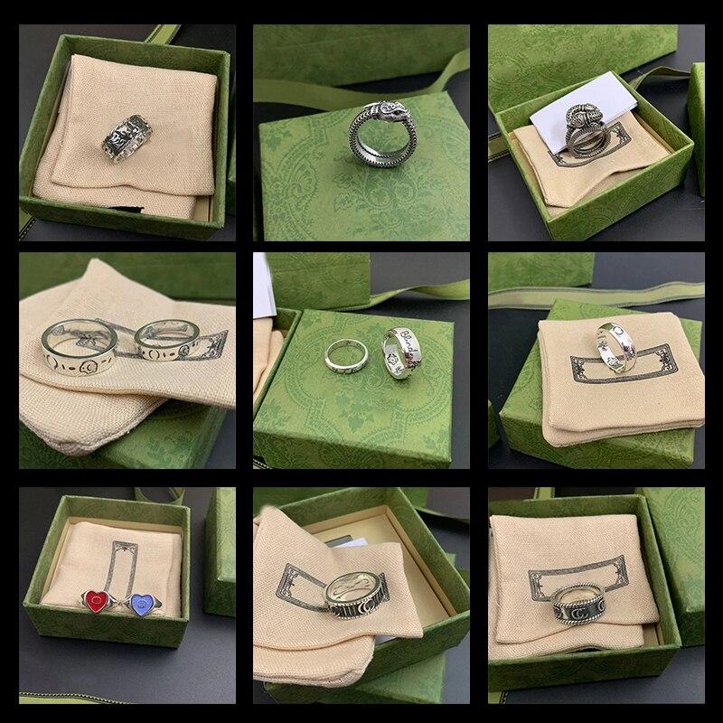 Мужское-и-женское-кольцо-Скелет-из-серебра-925-пробы-в-ретро-стиле