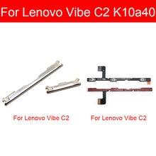 Power & Volume Flex Cable For Lenovo Vibe C2 K10a40 Power Button Switch & Volume Side Key Button Flex Ribbon Replacement Parts