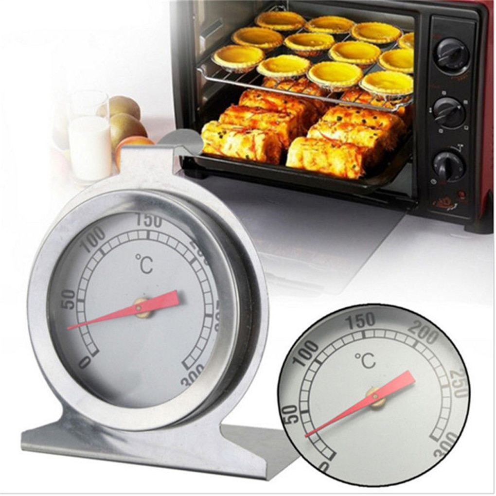 Hot Stainless Steel Oven Cooker Thermometer Temperature Gauge Mini Thermometer Grill Temperature Gau