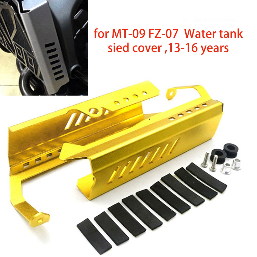 مناسبة Yamaha MT-09/FZ-09 13-16 تعديل نك خزان المياه الجانب غطاء للحماية