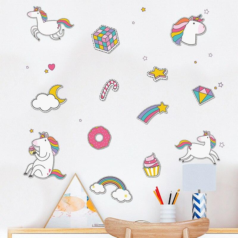 Decoración de la habitación de los niños pegatinas para pared para bebés...