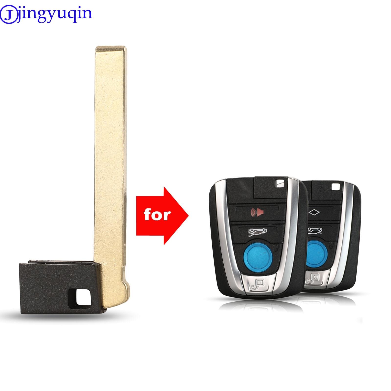 Carcasa de llave a distancia de coche de repuesto jingyuqin llave ciega para BMW I3 I8 llave inteligente