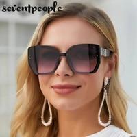 oversized square sunglasses women 2021 luxury brand designer fashion large frame sun glasses for men trendy gafas de sol mujer