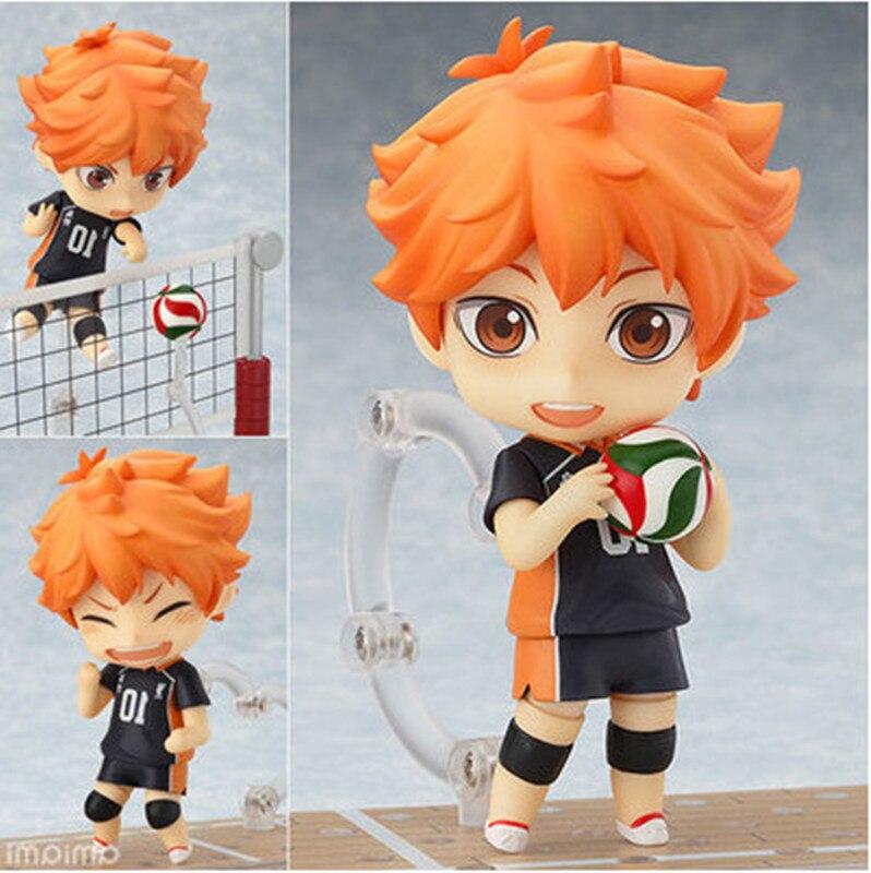 10CM Haikyuu Hinata Shoyo nueva figura de acción #461 colección de juguetes de PVC muñeco de anime modelo de dibujos animados