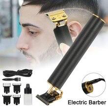 Professionnel hommes tondeuses à cheveux barbier coupe de cheveux Sculpture Cutter Rechargeable tondeuse lavable réglable sans fil bord