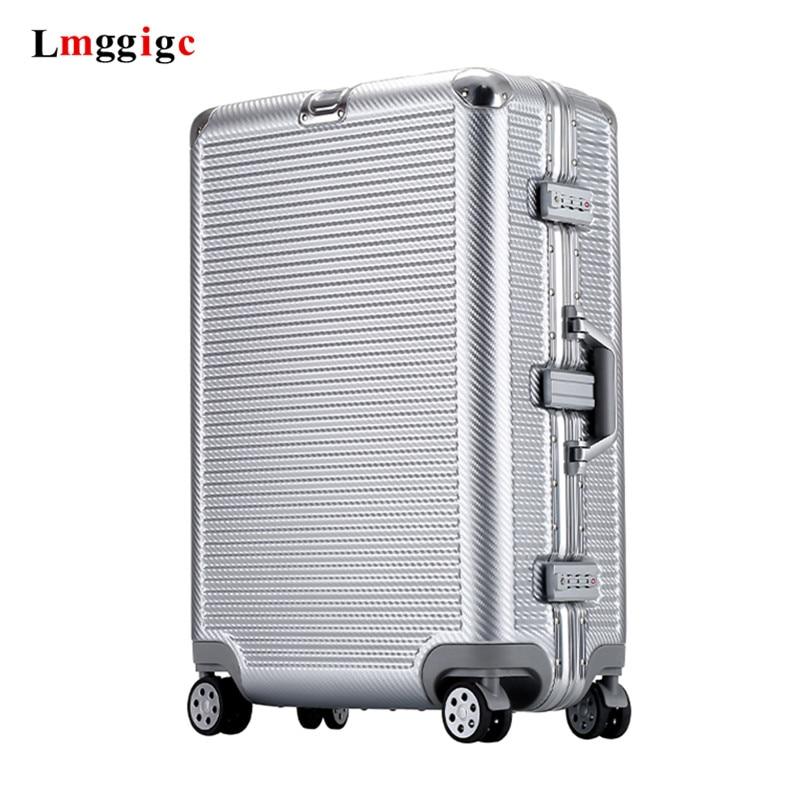 "NUEVA CUBIERTA DE carrito, Maleta multiruedas de transporte, caja de 20 ""24"" 26 ""29"", nueva maleta de viaje con rueda, marco de aluminio + bolsa de equipaje rodante de PC"
