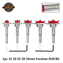 1 pièce diamètre 15mm 20mm 25mm 30mm 35mm forets carbure réglables scie cloche à bois pour outils électriques Forstner foret