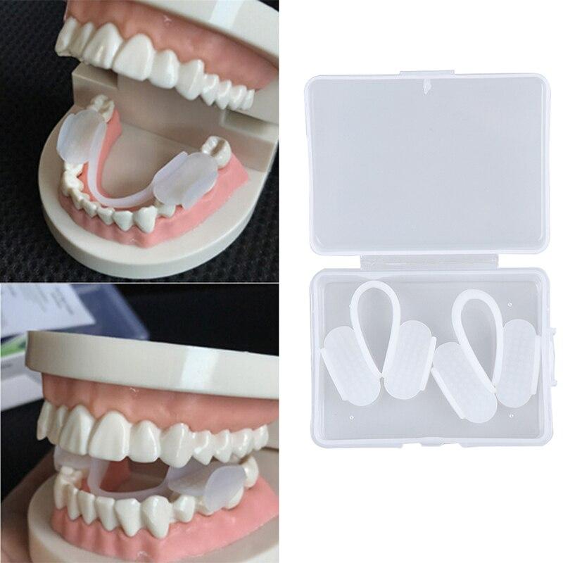 1/2 шт. Стоматологическая EVA Брекеты прибор подтяжки выравнивание тренер ретейнер для зубов бруксизм Капы зубы выпрямитель