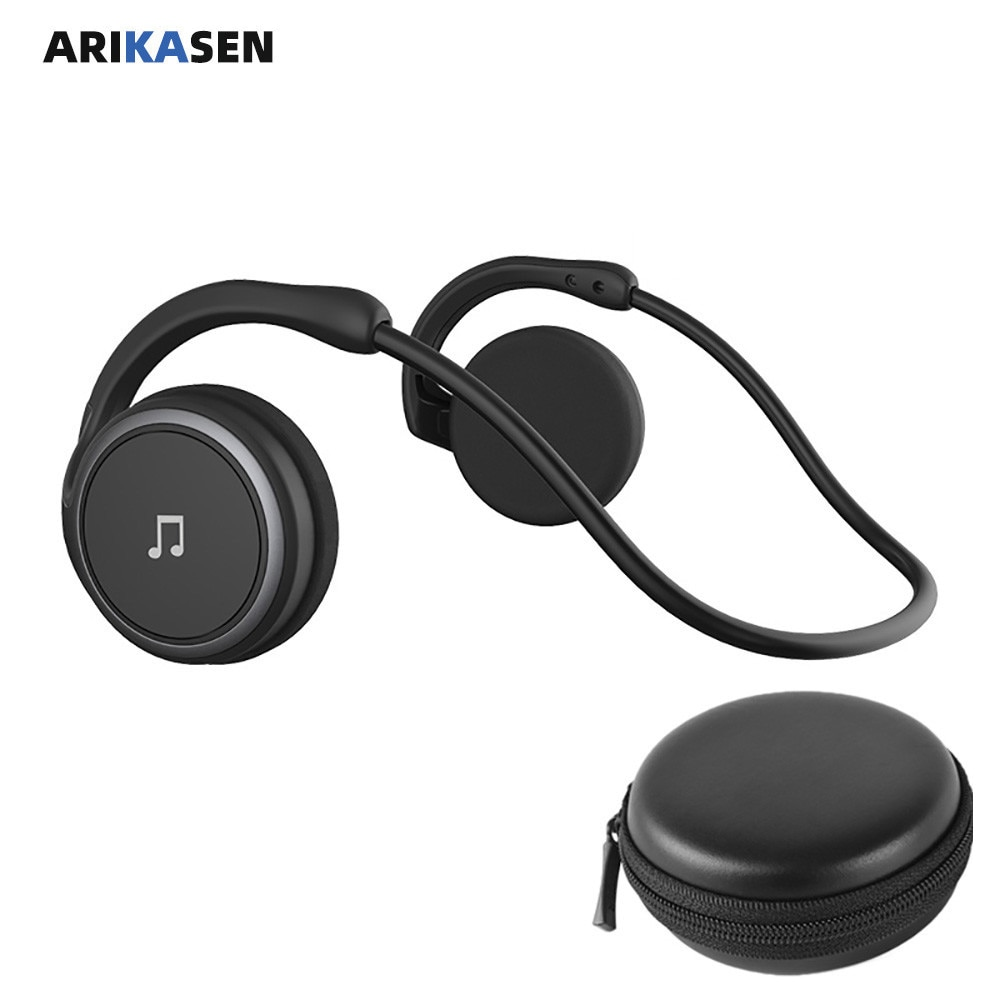 A6 Bluetooth 5.0 Headphones Sports Running Wireless Earphone comfortable 11 hours music Portable Bluetooth Headset with mic case