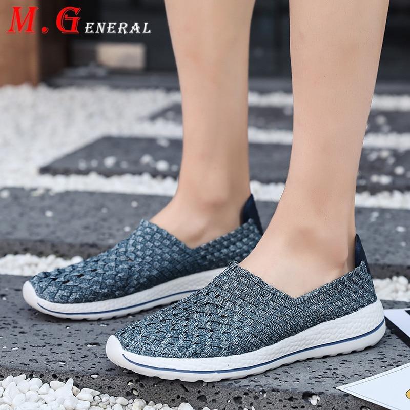 Zapatillas para correr con ventilación, calzado deportivo hecho a mano para hombre, zapatillas para correr transpirables con tacones ocultos, zapatillas de deporte tejidas suaves para hombre V6