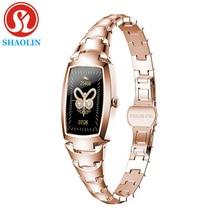 Smart Watch Women Bracelet Heart Rate Blood Pressure Monitor Women's Watches IP67 Waterproof Smartwa