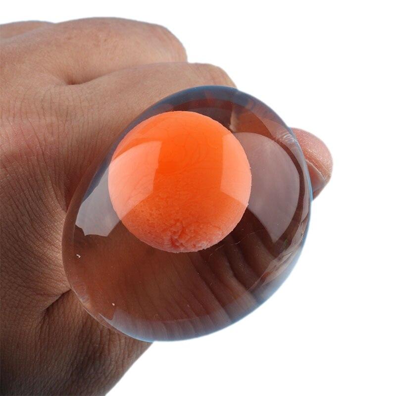 12 Pcs Funky Egg Splat Ball Squishy Toys Stress Relief Eggs Yolk Balls Squishies M89C enlarge