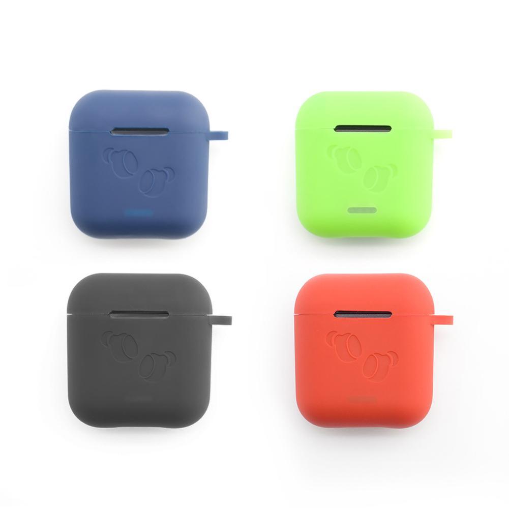 Nueva funda de silicona para auriculares TOZO T6, funda para auriculares Bluetooth, funda protectora para auriculares con gancho 2020