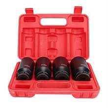 4 pièces 1/2 pouces jeu de douilles à Impact profond adaptateur de tête 12 points 30mm 32mm 34mm 36mm outils de réparation