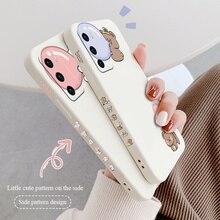 Wacky Cartoon Rabbit Case For Huawei P40 P40Lite P30 P20 Mate 40 40Pro 30 20 Pro Lite P Smart 2021 Y