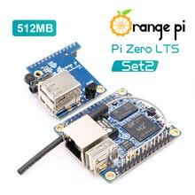 Laranja Pi Zero Conjunto 2 LTS: Laranja Pi Zero LTS 512MB + Placa de Expansão além Raspberry Pi