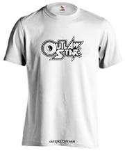 Outlaw Star Gene Starwind Logo Anime Manga Mens Round Neck Short Sleeves T Shirt Fashion Casual T-shirt Cool Tops Clothing