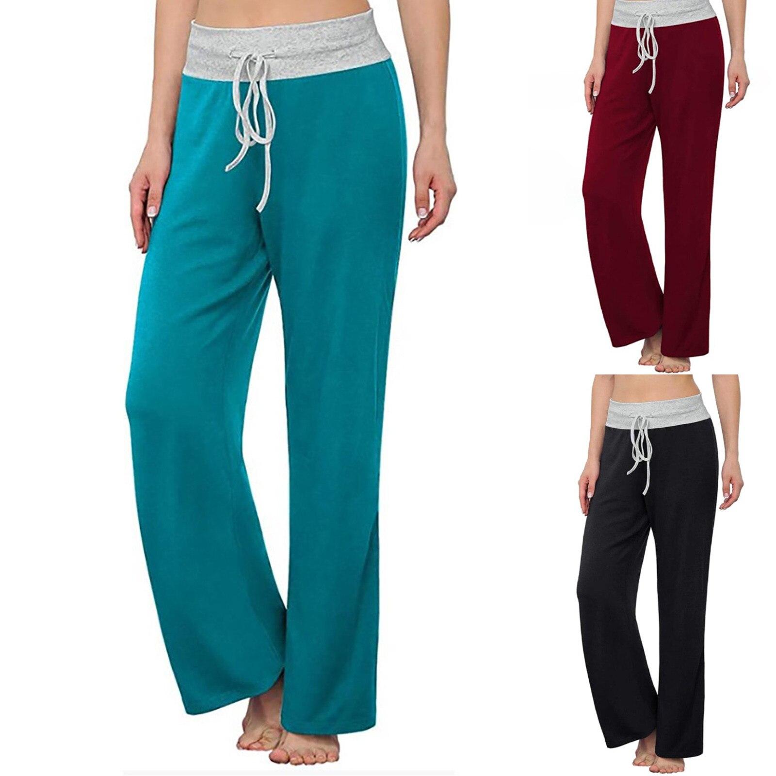 Женские мягкие брюки с высокой талией, удобные повседневные летние женские брюки с высокой талией, однотонные брюки до щиколотки, женские С...