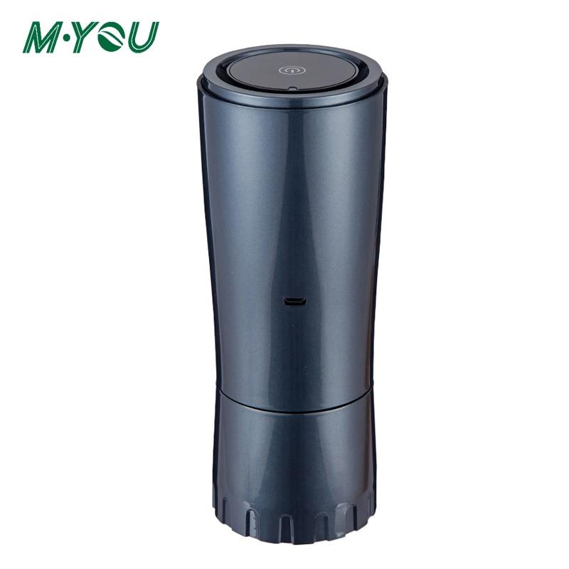 Car Air Purifier Negative Ion Vehicle Air Recirculator Filter UV Disinfection Remove Formaldehyde Odor Deodorization Air Cleaner