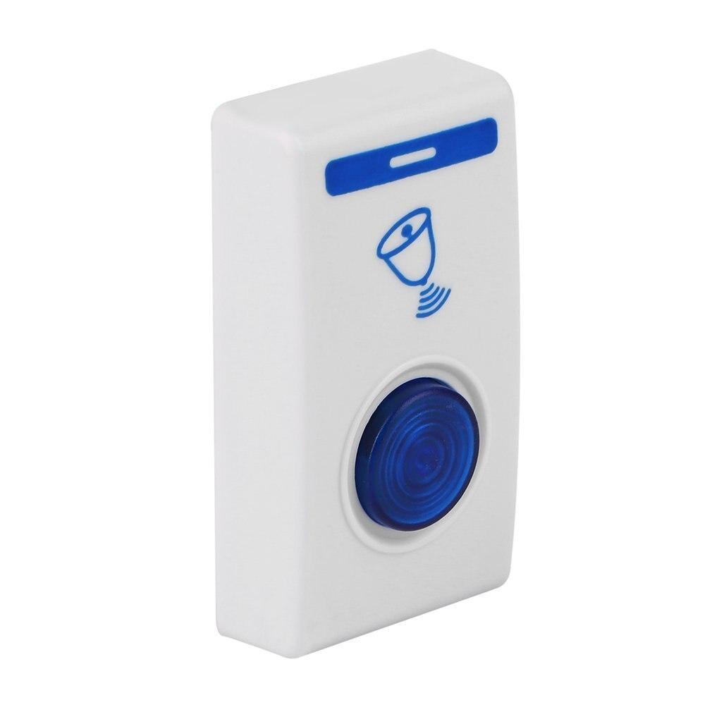 Control remoto LED inalámbrico timbre de puerta y puerta con alarma y Wireles 32 canciones Tune Envío Directo C1 nueva llegada