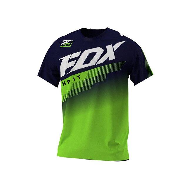 Fox Vtt-Camiseta de Ciclismo para Hombre, Maillot corto, equipo deportivo, Motocross, Mtb,...