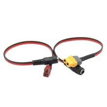 Prise universelle XT60 XT30 T vers cc 5.5/2.1mm adaptateur femelle câble dalimentation pour lunettes Fatshark Skyzone Aomway