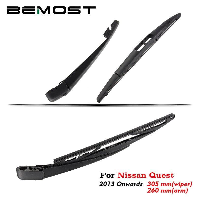 BEMOST Car Rear Windshield Windscreen Wiper Blade Arm Rubber For Nissan Quest 305MM Hatchback 2013 2014 2015 2016 2017 2018