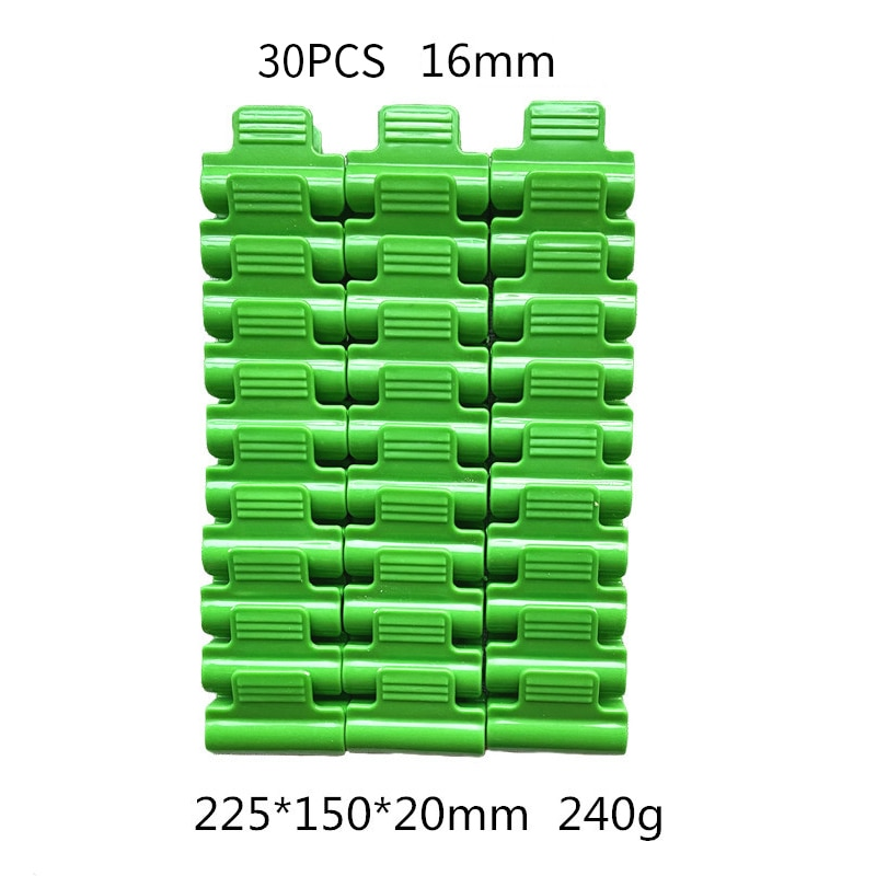 1/30pcs Greenhouse Clamps Clips Plant Stakes Pipe Clamps For Outer Diameter Shed Film Row Cover Shading Netting Tunnel Hoop Clip