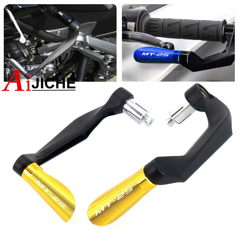 motorcycle cnc brake clutch levers w adjuster knobs for buell xb9 ulysses xb12x yamaha yzf 600 1000 r1 r6 mt 07 fz07 mt 09 fz09 For YAMAHA MT-25 MT25 MT 25 Motorcycle 7/8 22mm CNC Handlebar Grips Brake Clutch Levers Guard Protector