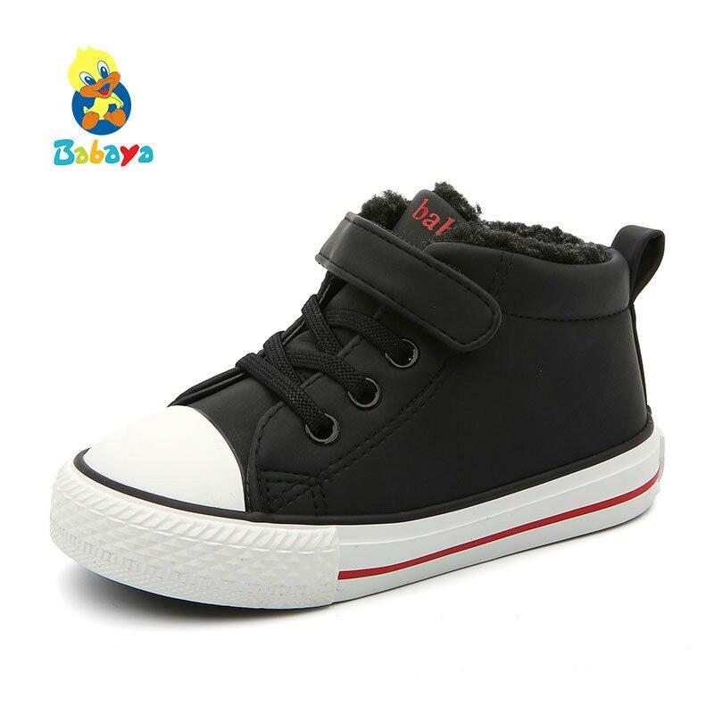 أحذية شتوية للأطفال ، أحذية أطفال مبطنة بالقطن ، نعل سميك ، أحذية كاجوال للأولاد والبنات ، 2020