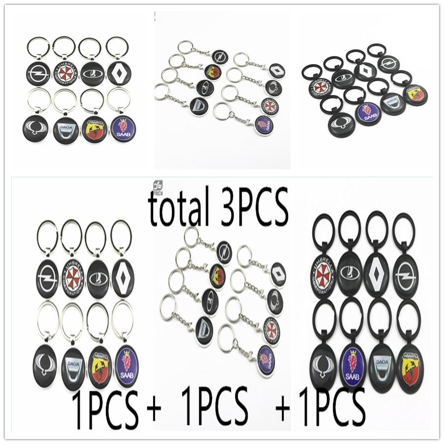 3PCS NEW Keychain Hand Horseshoe Buckle key rings for AUDI BMW E46 VW Opel Fiat Audi Mazda Ford Toyota Seat LEON Kia