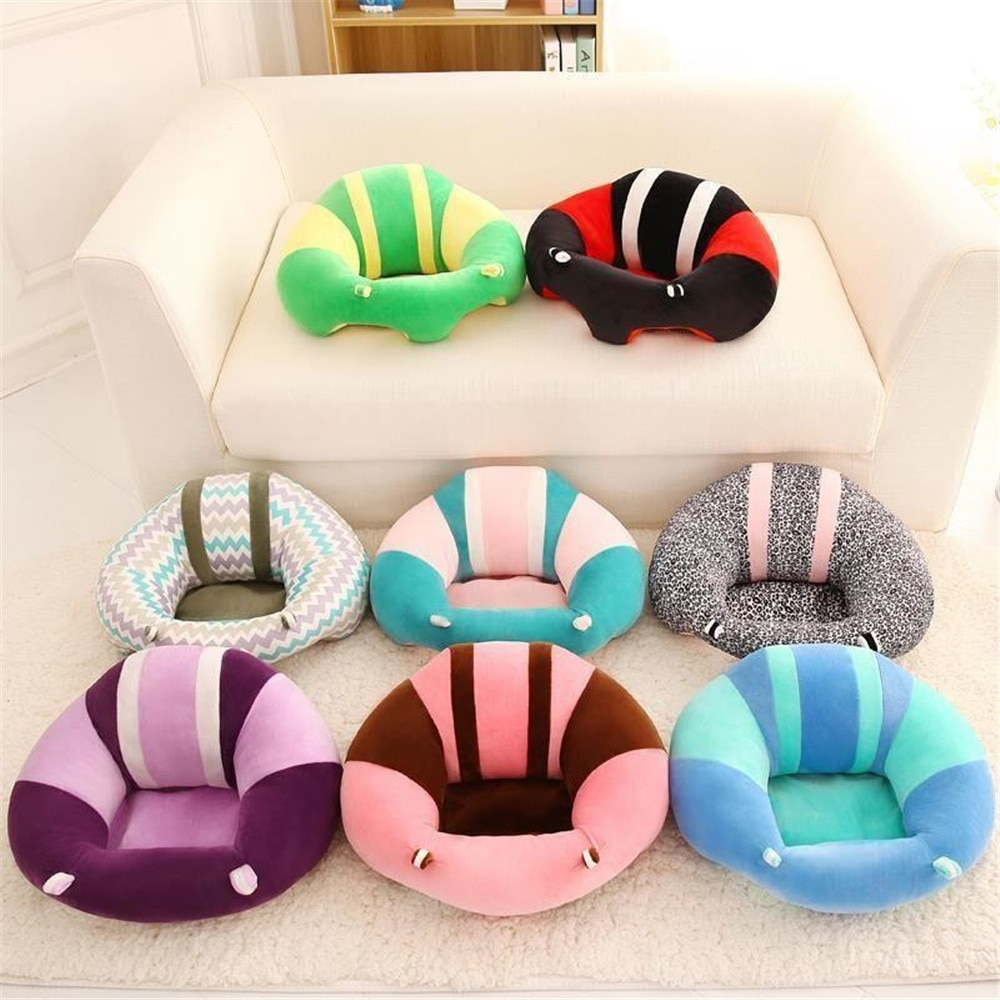 Creative sofa baby safety seat assisted baby to learn to sit on the dining table and chairs plush toys for children to eat