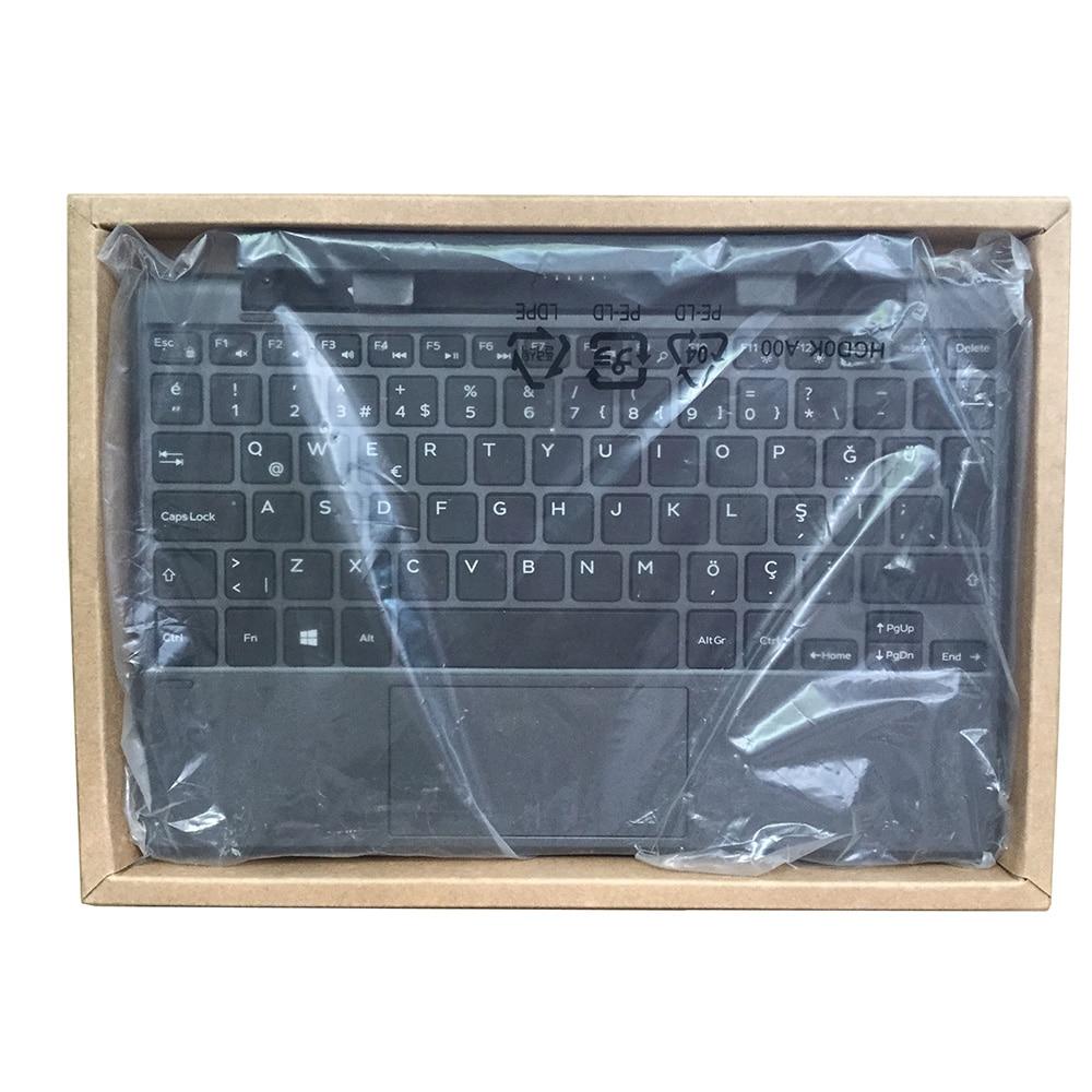 لوحة مفاتيح كمبيوتر لوحي K13M أصلي جديد مع بطارية لأجهزة ديل 10 برو 5000 5050 5055 6PIN 09MW1N 0PF9M6