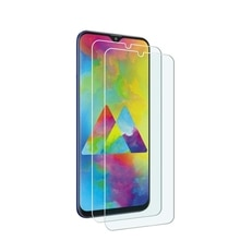 9 Hardness Anti-Scratch 2.5D Arc Edges Glass For Samsung Galaxy M20 Screen Protector Tempered Glass