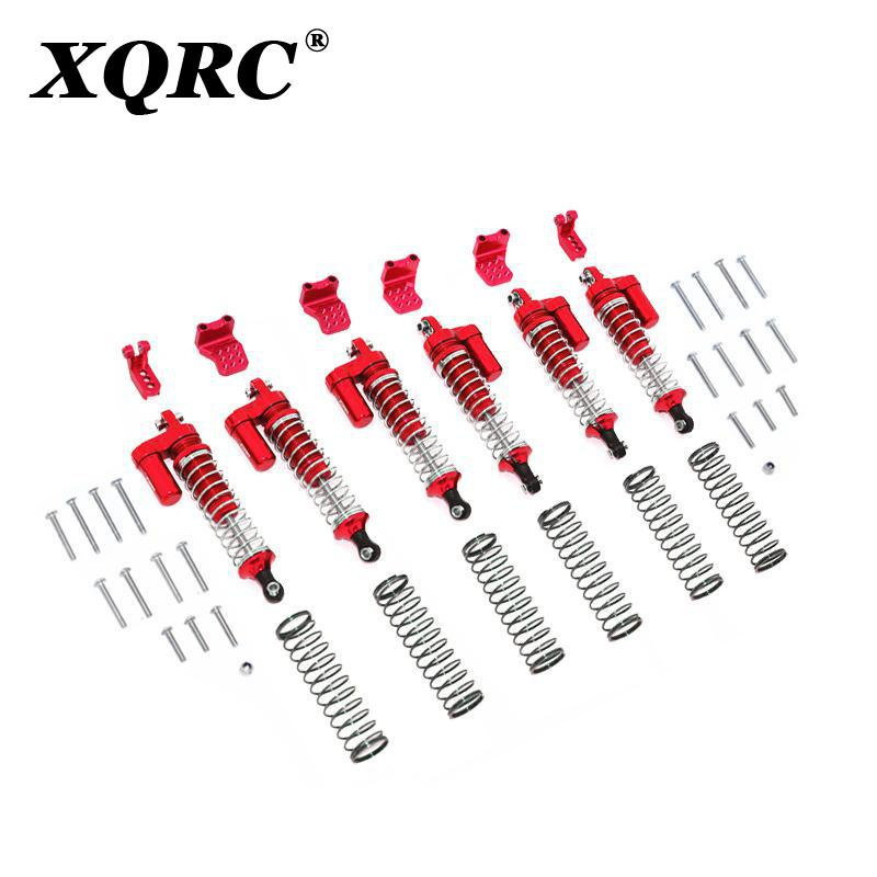 XQRC Aluminum alloy 90mm L-shaped shock absorber with negative pressure cylinder is used for 1 / 10 RC tracked vehicle trx6 g63 enlarge