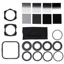 Andoer Professional Universal Neutral Density ND2 4 8 16 Filter Kit for Cokin Set SLR DSLR Camera Lens Camera Photo Accessories