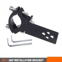 Motorcycle Use Mount Screw Install Chopper Spotlight Headlight Bracket Repalcement Fork Durable Aluminium Alloy Professional