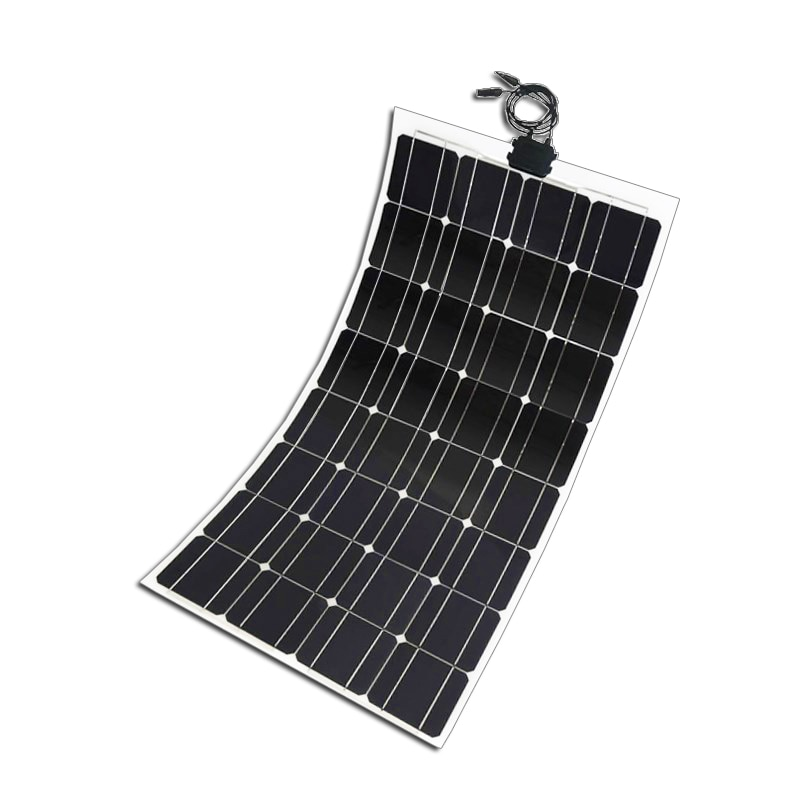 Donghui 100w 18v portable and lightweight monocrystalline for boat Vehicle flexible and folding solar panel