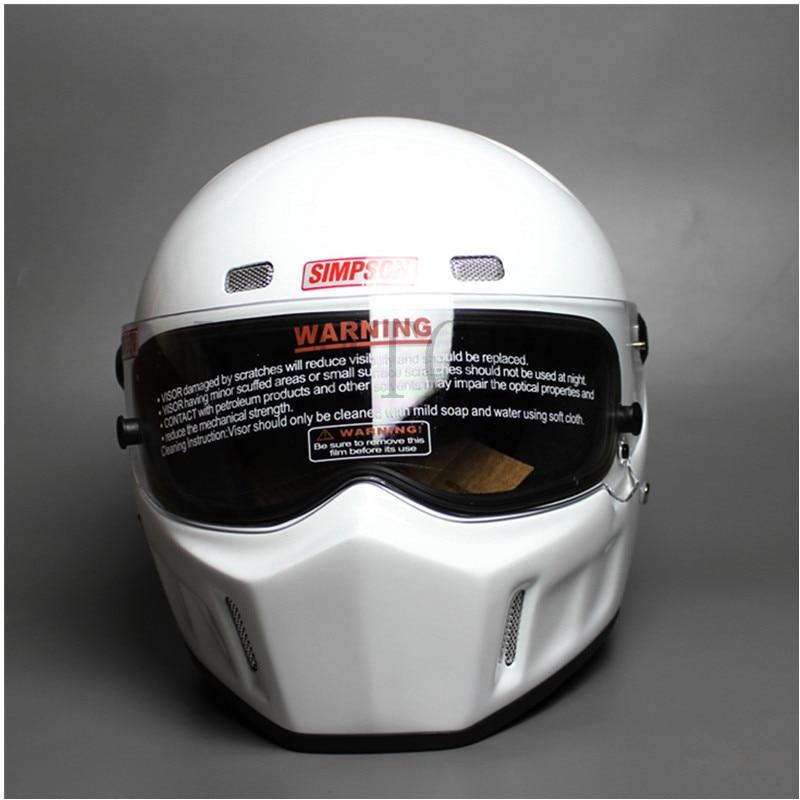 DIY CRG ATV-1 Personalized SIMPSON Sticker Motorcycle Racing Full Face Helmet F1 Capacete De Moto Riding Cascos Motorrad