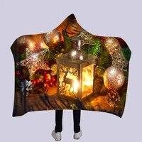 3d modern full printed wearable blanket adultskids fleece blanket fleece soft throw blanket drop shippng